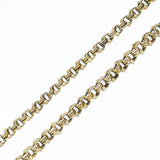 Victorian Austro-Hungarian Gilded Silver Watch Chain Necklace 33