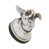 Victorian 9kt/Sterling Whippet Dog + Onyx Seal Fob Pendant