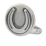 GEORG JENSEN Vintage Sterling Horseshoe Cufflinks