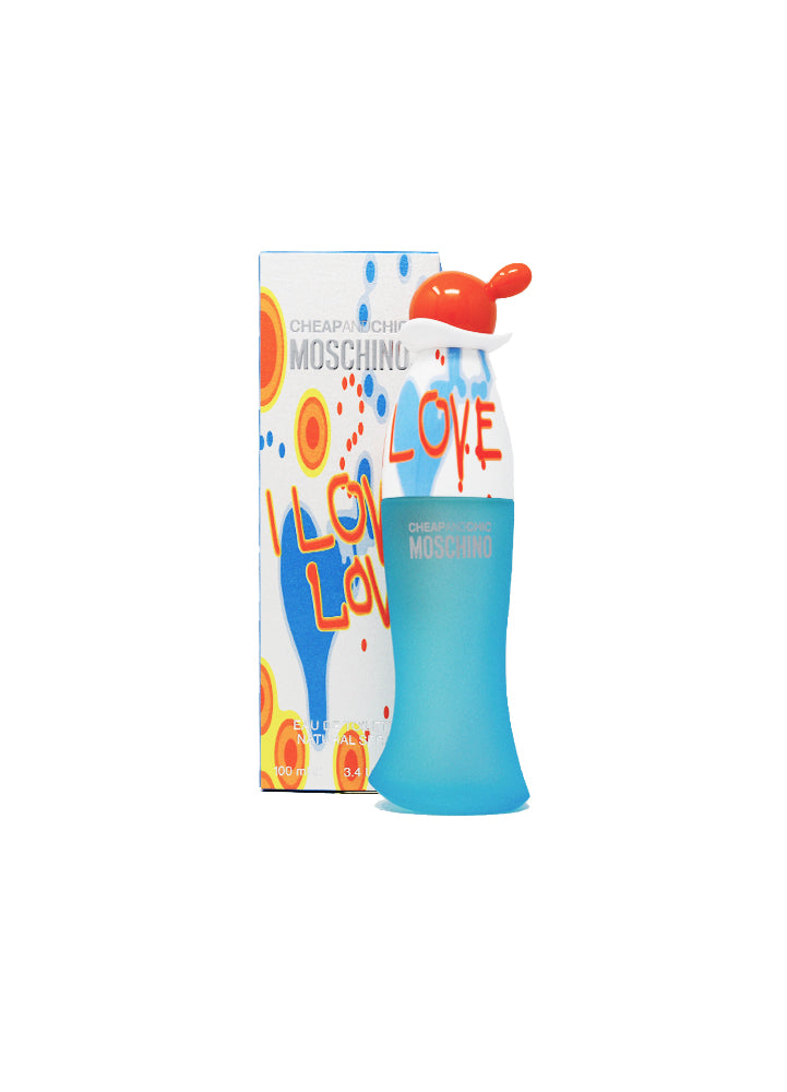 Cheap and Chic Moschino I Love Love Pour Femme