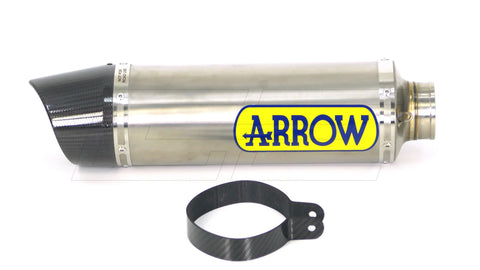 Terminale di Scarico Arrow Competition Evo con Fondello in Carbonio Honda CBR 600 RR 2009-2012 - G.E. MotoShop