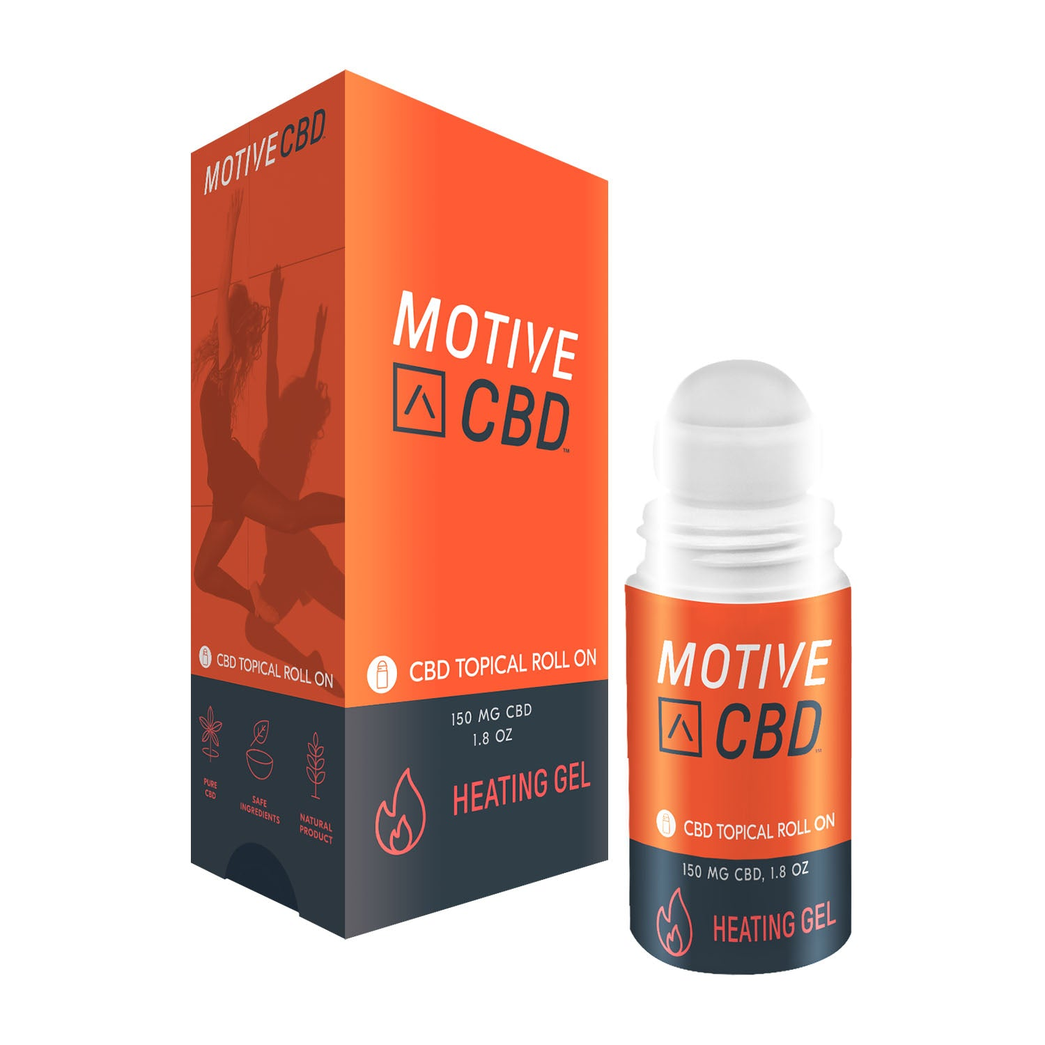 MOTIVE Roll On Heating Gel