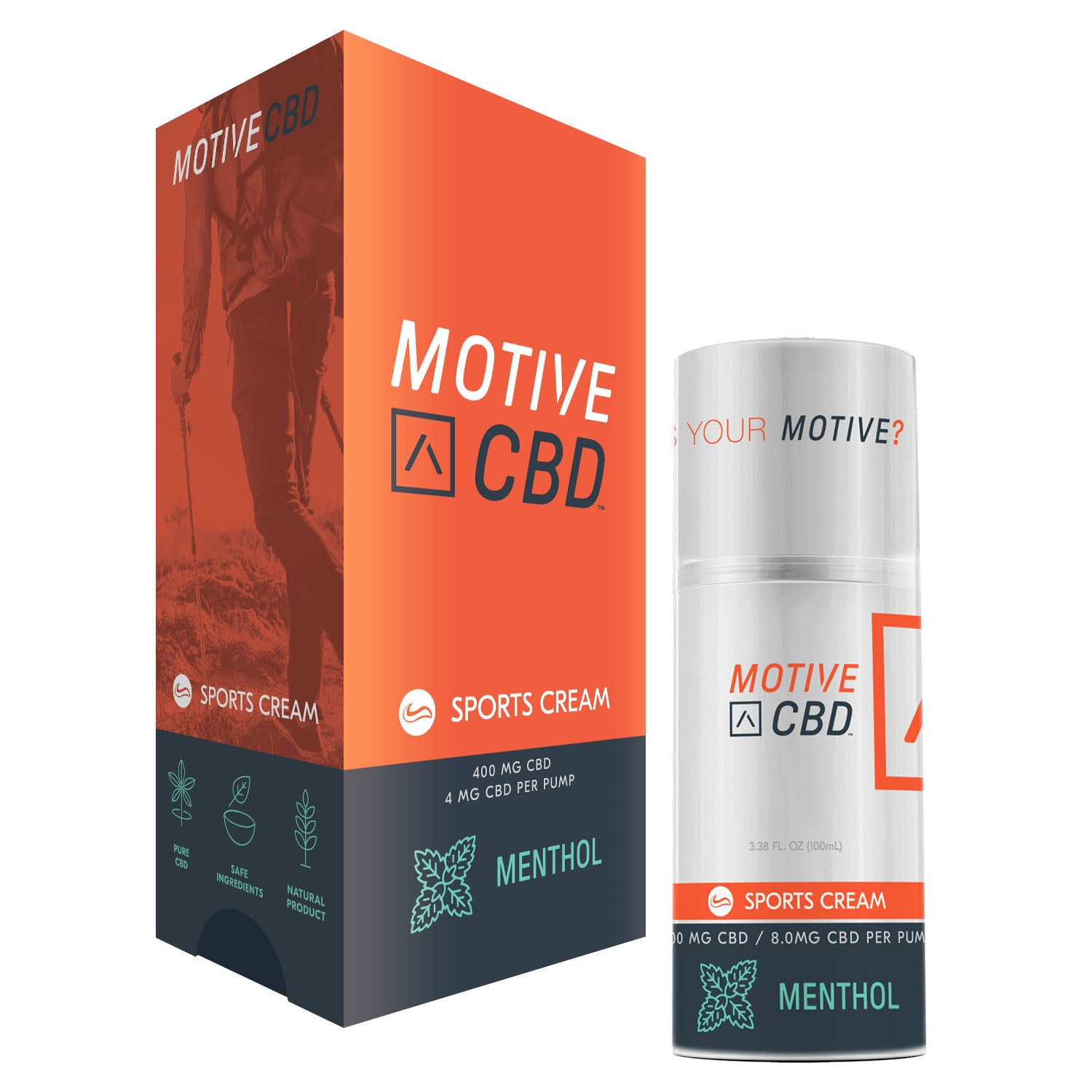 MOTIVE Sports Cream Menthol
