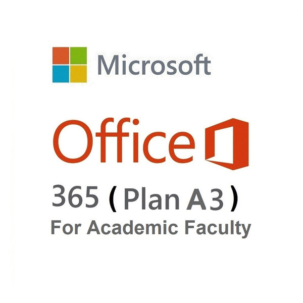 Microsoft 365 A3 (Academic - Faculty)