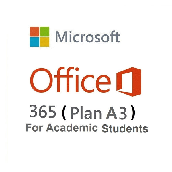 Microsoft 365 A3 (Academic - Students)