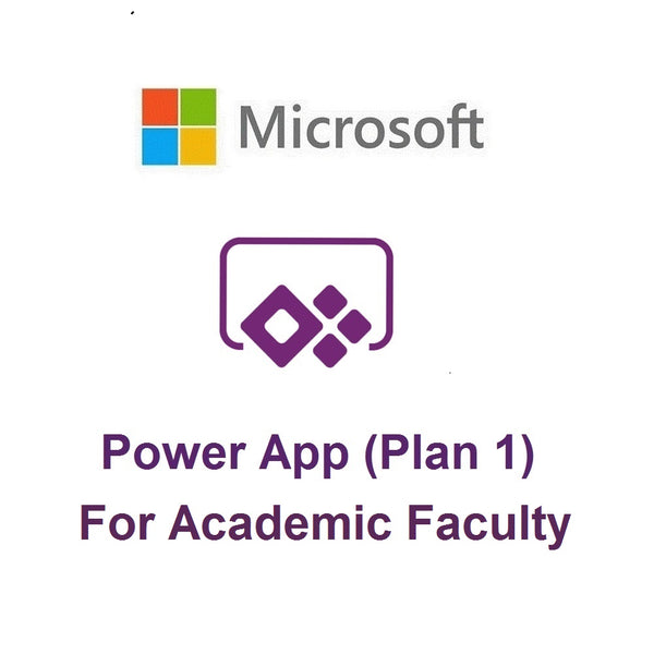 Microsoft PowerApps Plan 1 (Academic - Faculty)