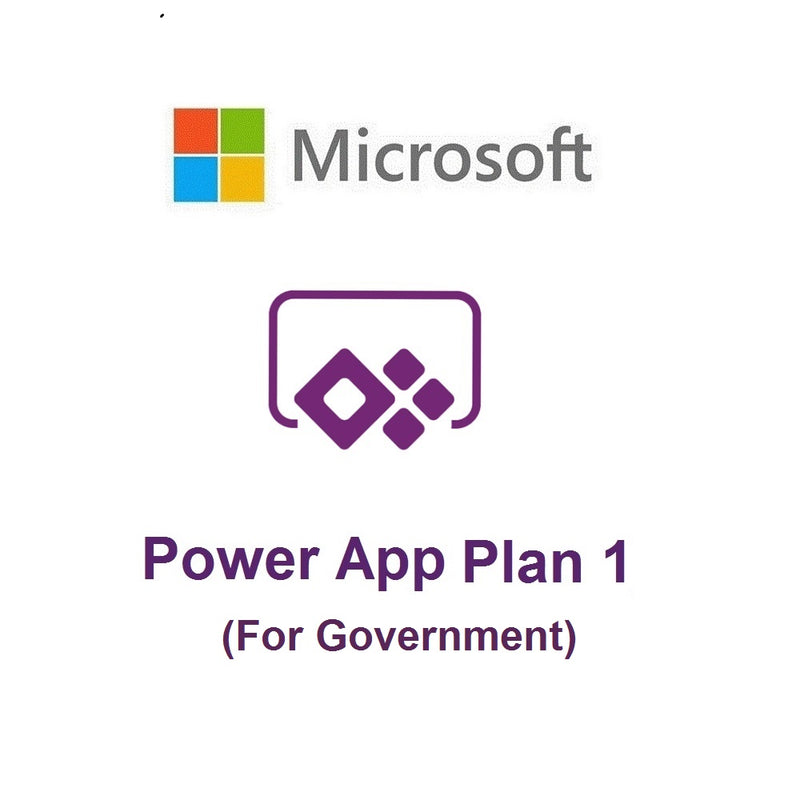 PowerApps Plan 1 for Government