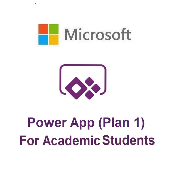 Microsoft PowerApps Plan 1 (Academic - Students)