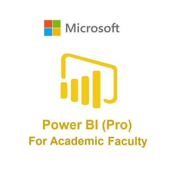 Power BI Pro (Academic - Faculty)