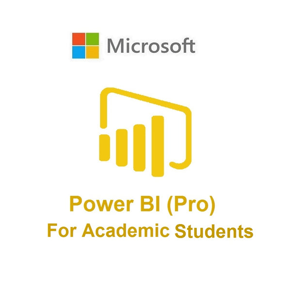 Power BI Pro (Academic - Students)