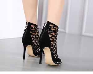 Ankle High Heel