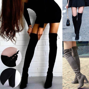 Over The Knee Boots (4 colors)