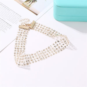 Collar Choker (silver and gold)