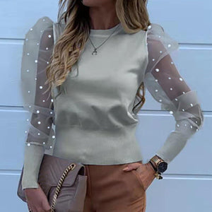 Pearl Beaded Blouses