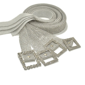Crystal Diamond  Belt