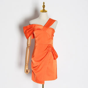 Asymmetrical  Dress (3 colors)