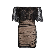 Load image into Gallery viewer, Off Shoulder Lace Sexy Dress