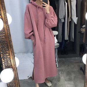Lantern Long Sleeve Oversize Dress