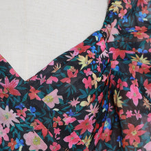 Load image into Gallery viewer, Vintage Print Floral Dress
