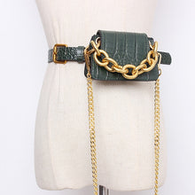 Load image into Gallery viewer, Elegant Leather Mini Bag /cross Body / Belt Bag (variety of colors)
