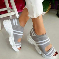 Sandals Stretch  Platform Sneakers (variety of colors)