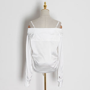Sexy Off Shoulder Blouse (two colors)