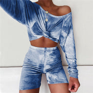 Tie-dye Two-Piece Set (variety of colors)