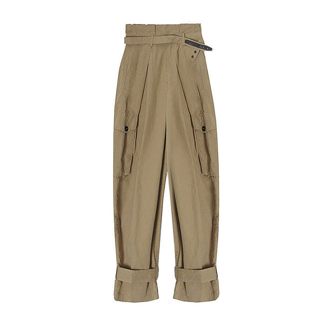 Casual Cargo Pant High Waist
