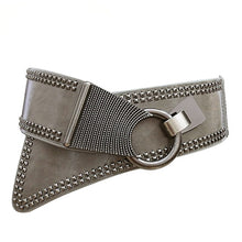 Load image into Gallery viewer, Fashion Punk Rocker Wide Belt (3 colors)