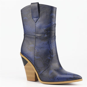 Leather Ankle Boots (variety of colors)