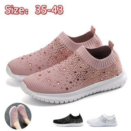 Crystal Fashion Bling Sneakers