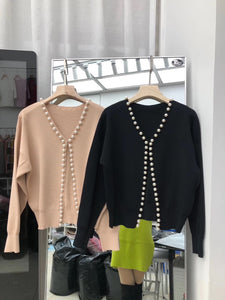 Beaded Pearl Sweater