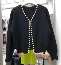 Load image into Gallery viewer, Beaded Pearl Sweater