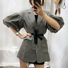 Load image into Gallery viewer, Puff Sleeves Blazer