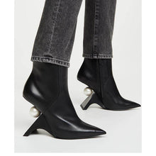 Load image into Gallery viewer, Pearl Ankle Boots