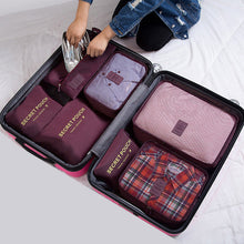 Load image into Gallery viewer, 7pcs Organizer Travel Bags