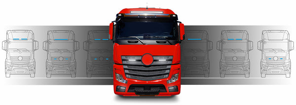 Mercedes LED Lightbar Scheinwerfer Kits
