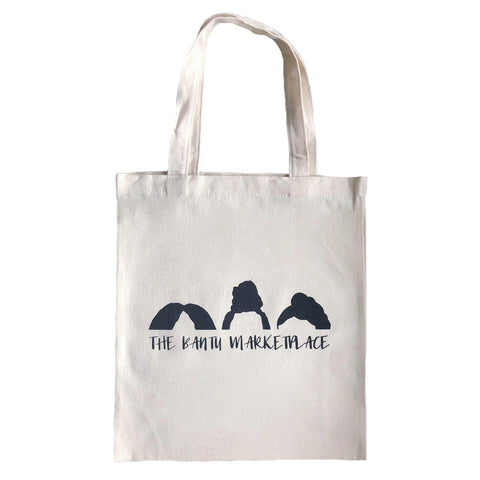 The Bantu Marketplace Tote Bag