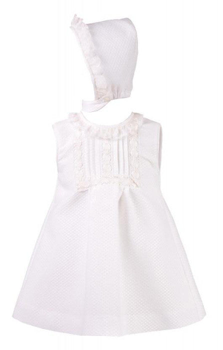 Abigail Dress with Bonnet