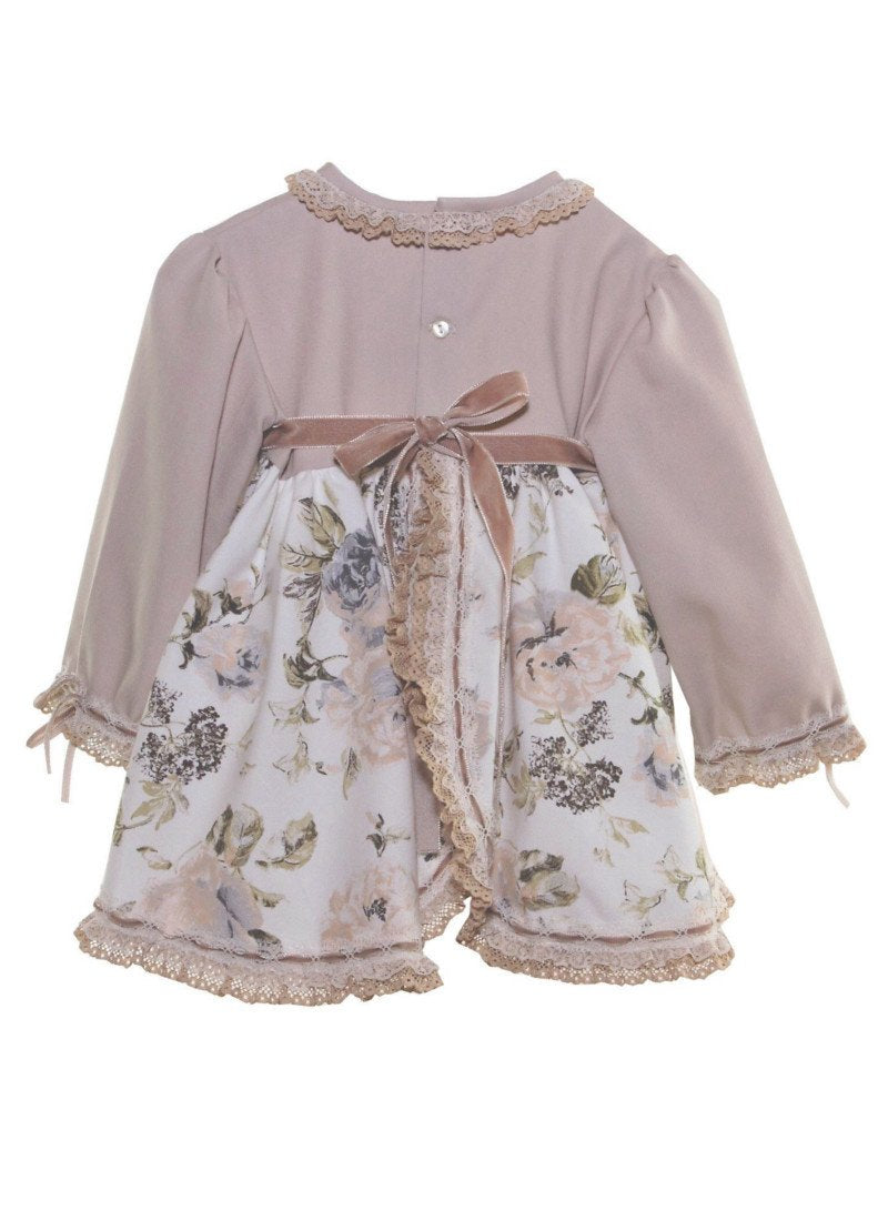 Catalina Dress with Bonnet & Bloomers