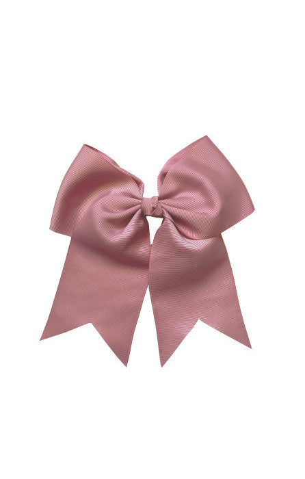 Dusty Pink Large Bow (Barrette)