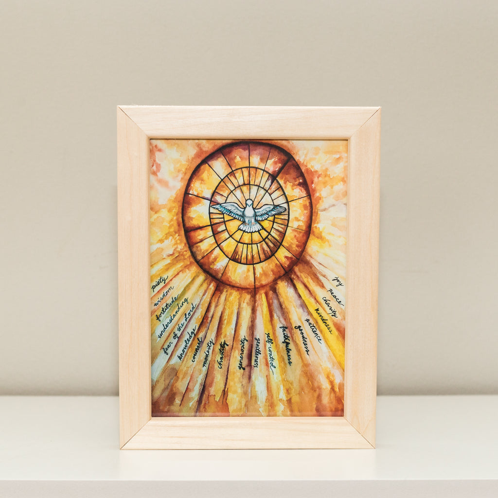 Gifts of the Holy Spirit Print