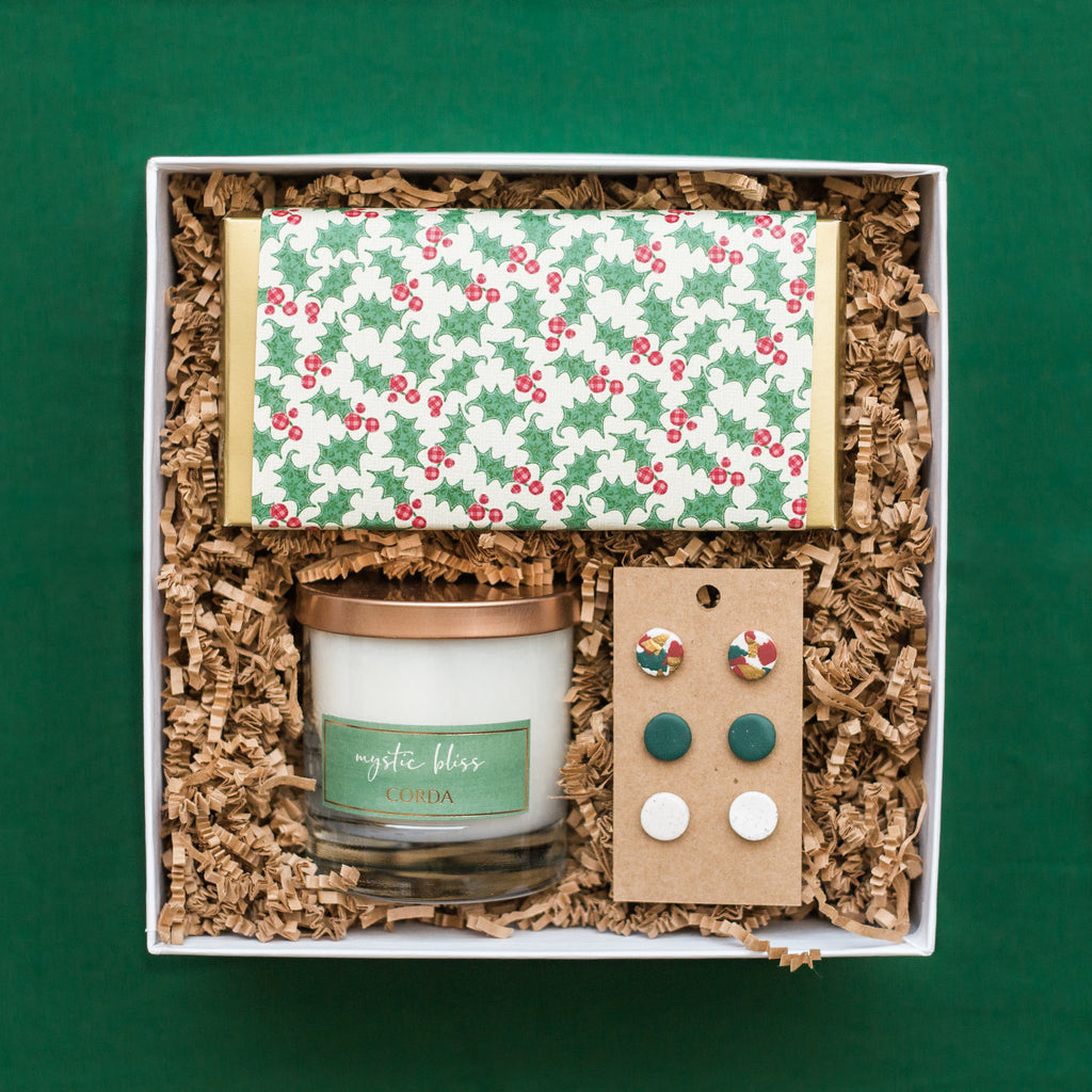 Festive Holly Box for Her
