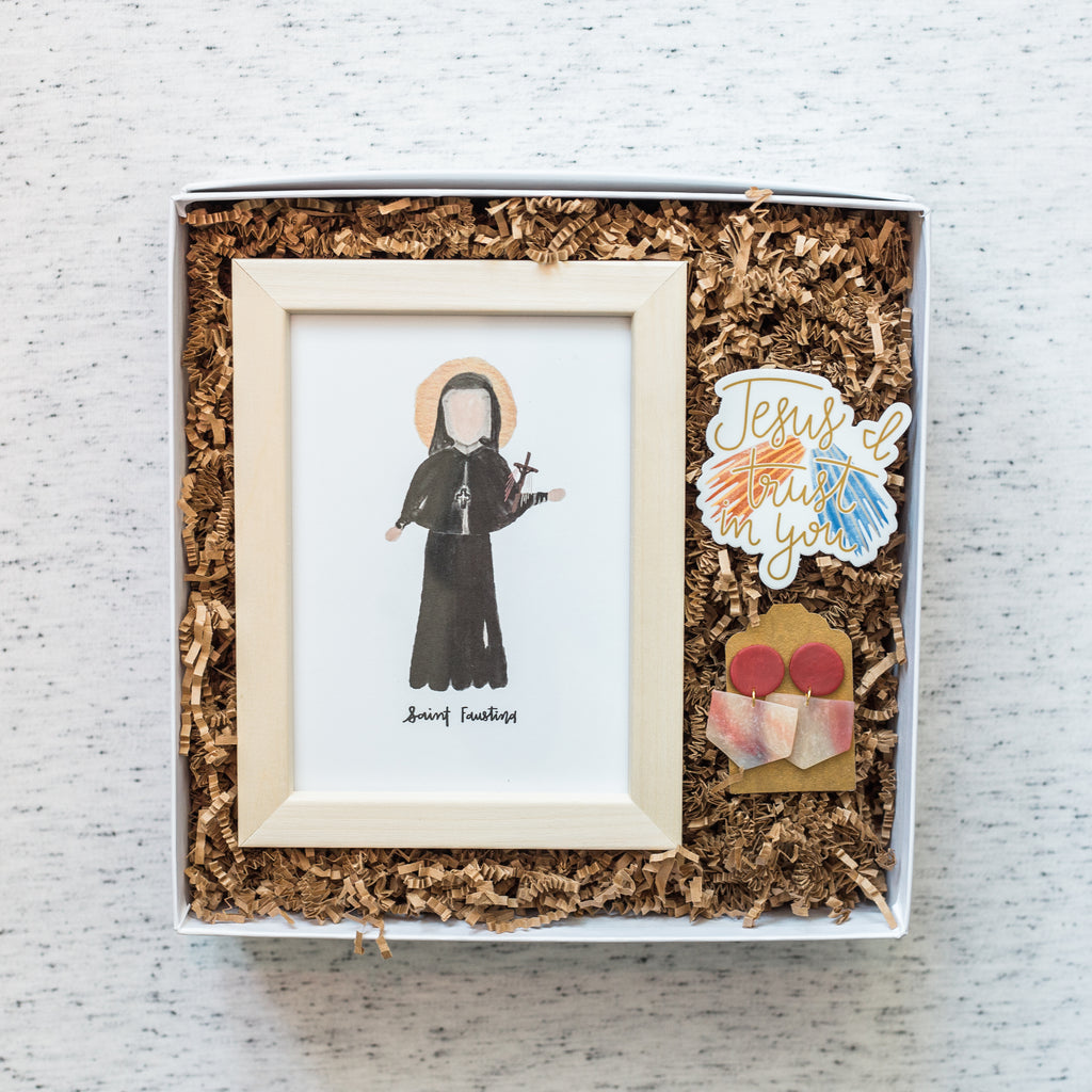 Unfathomable Mercy: St. Faustina Box