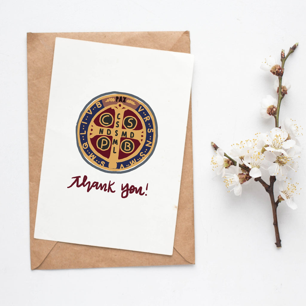 Whole Heart Designs Thank You Card