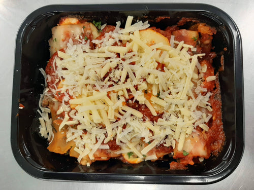 Pumpkin and Spinach Cannelloni (v) - Blue Carrot Catering