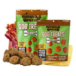 Pinnacle Hemp - CBD Pet Treat - Full Spectrum Dog Treats - 2mg - The Green Guys - CBD- ի ամենամեծ շուկան