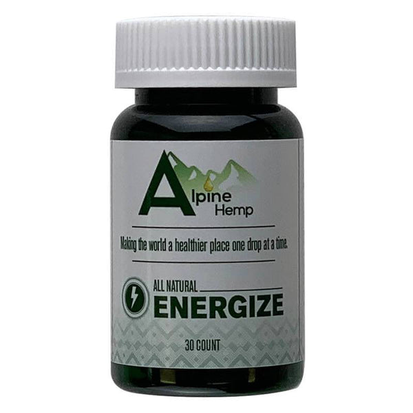 Alpine Hemp - CBD Capsule - Energize - 20mg - The Green Guys - CBD- ի ամենամեծ շուկան