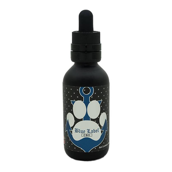 Blue Label CBD - CBD Pet Tincture - Bacon - 500mg - The Green Guys