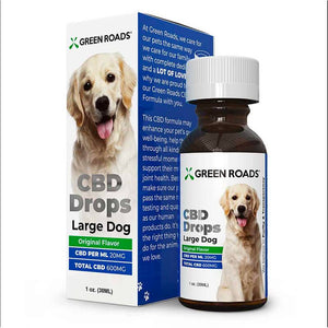 Green Roads - CBD Pet Tincture - CBD Drops Dog Formula - 60mg-600mg - The Green Guys